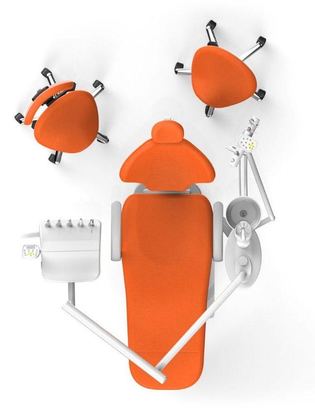 RITTER Ultimate Comfort Smart Dental Unit - TEPE GÖRÜNÜM