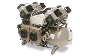 DK 50 2x4VR/110/M 8 Ünit Kapasiteli Yağsız Kurutuculu Kompresör