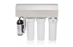 Tamamlayıcı Sterilizasyon Ürünleri - MELAdem 55 Yüksek miktarda demineralize su için ters osmoz sistemi