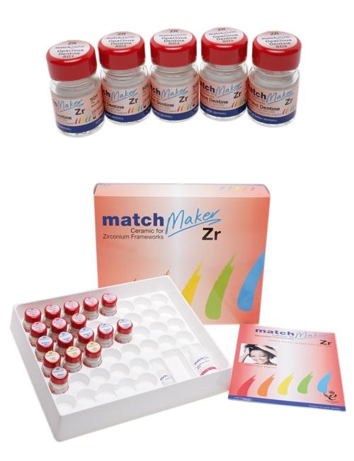 Matchmaker Porselen Diş Sistemi - ZR